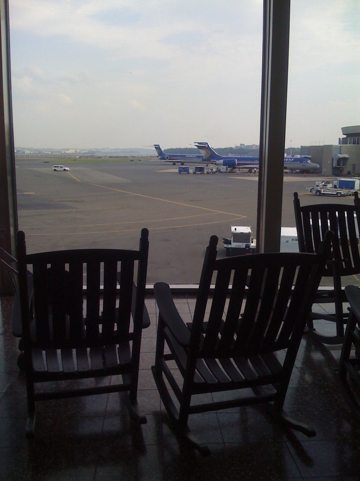Rocking Chairs at DCA