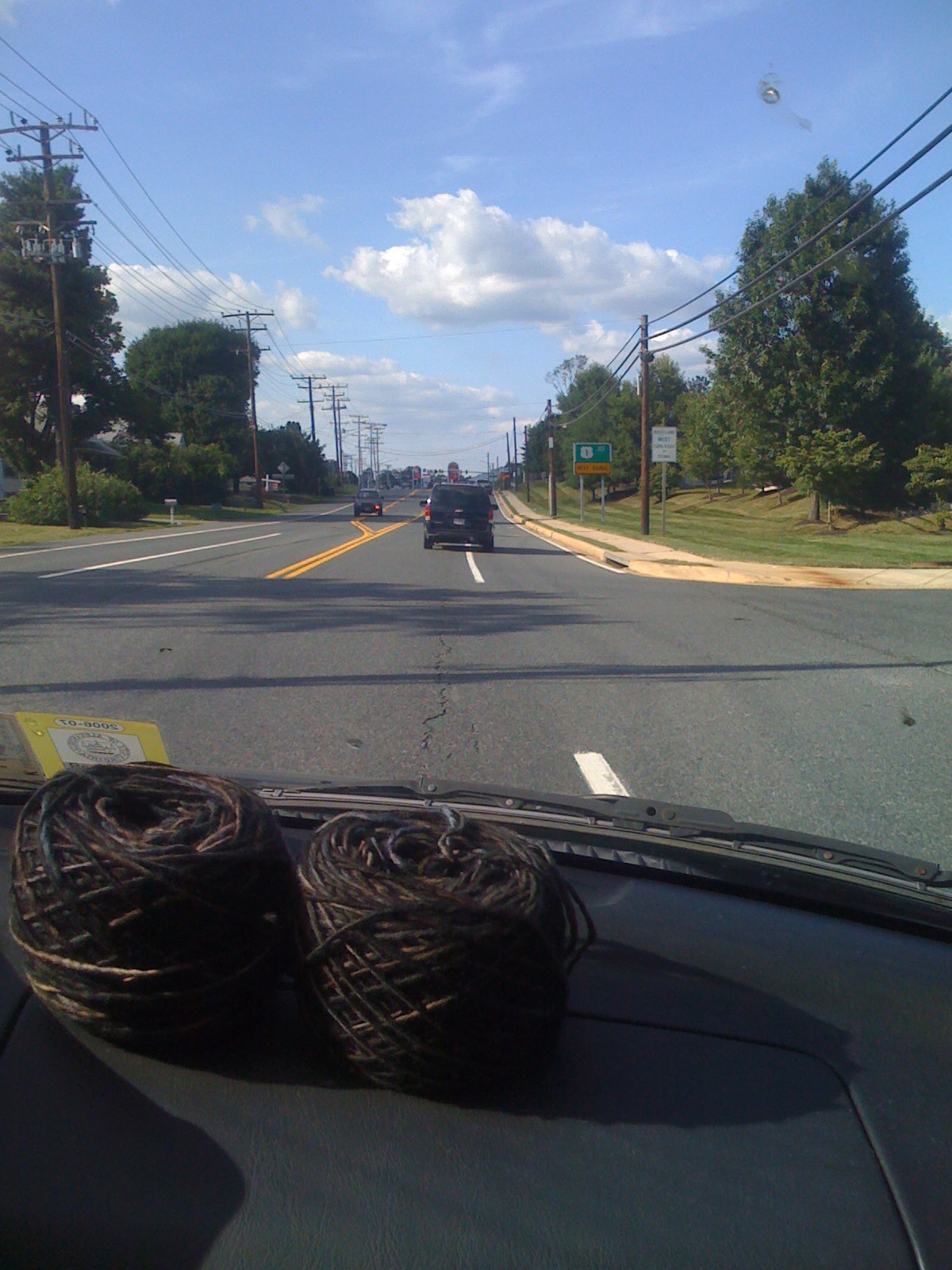 The new Manos yarn takes a ride up Route One