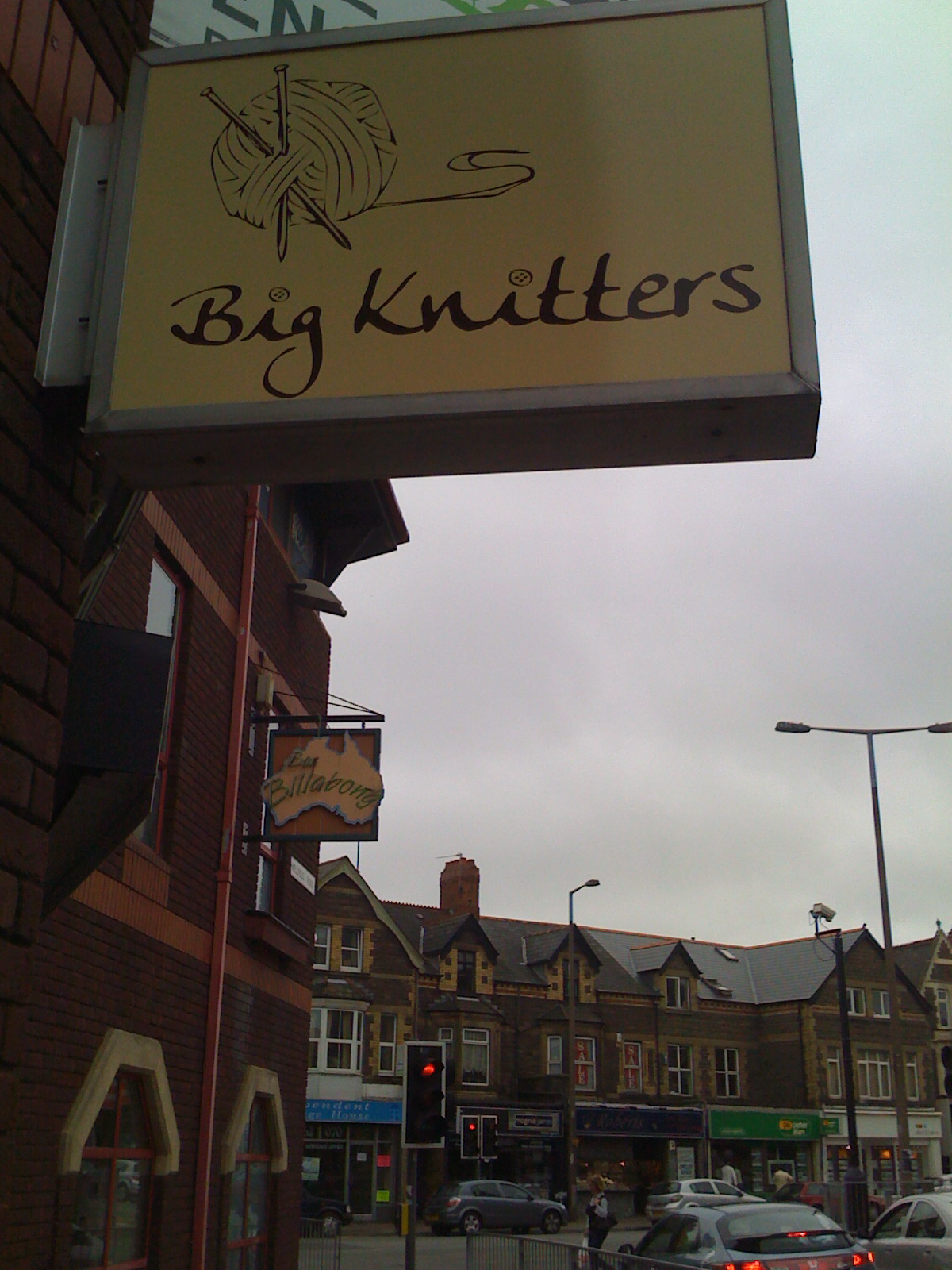 Big Knitters in Cardiff