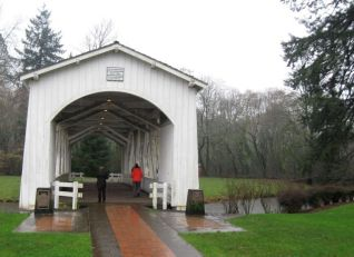 Bridge in Stayton