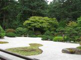Japanese Garden sand garden 2