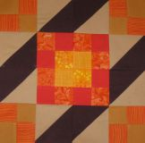 sunny lanes orange finished