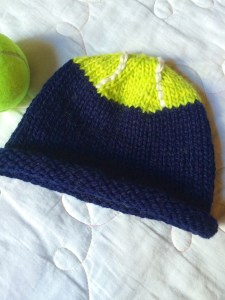 Tennis Ball Roll-Brimmed Hat