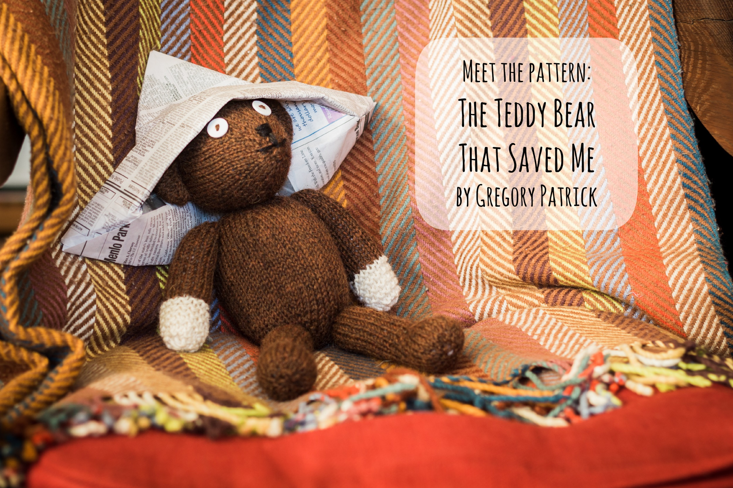 Mr Beans Bear  KNITS FOR LIFE