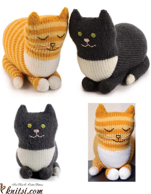 free cat knitting patterns # 0