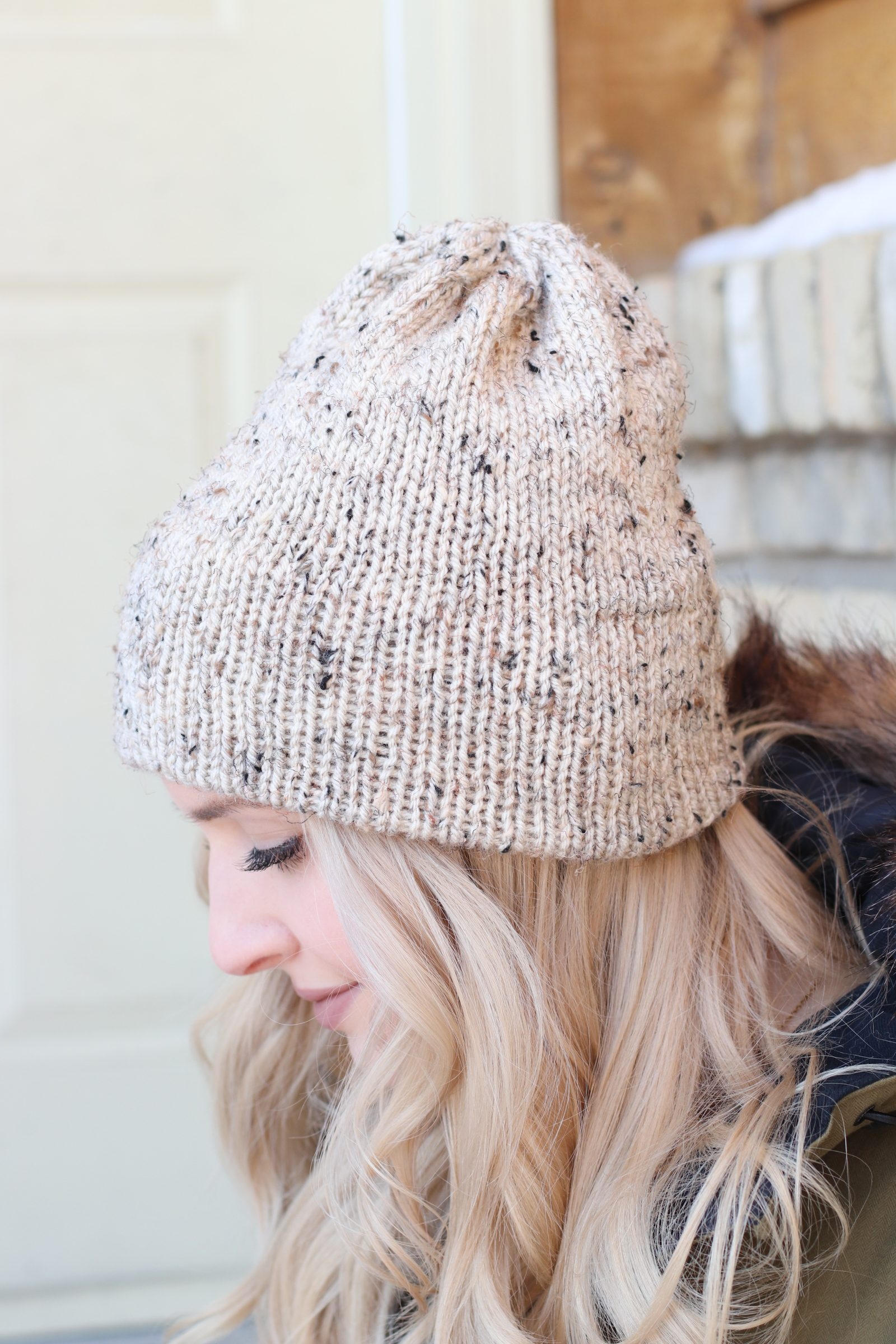8279189cd The Charleswood Beanie – Beginner Double Brim Knit Hat
