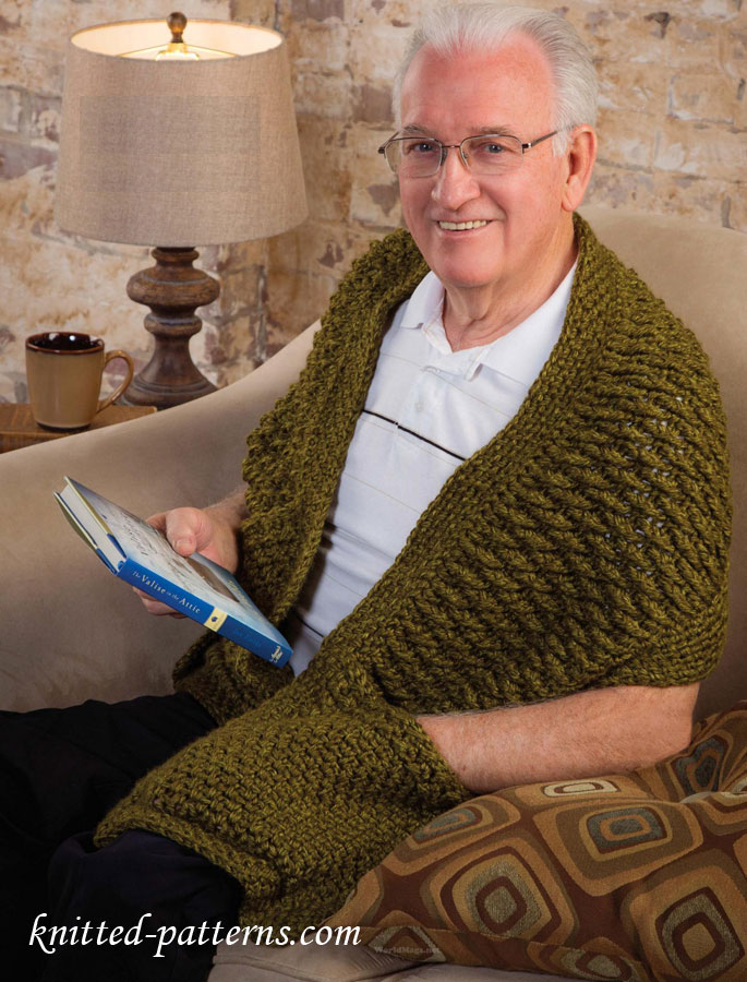 Knit Scarves To Crochet For Men
