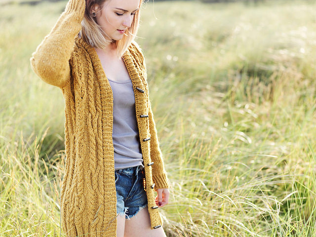 Modification Monday: Vale Cardigan | knittedbliss.com
