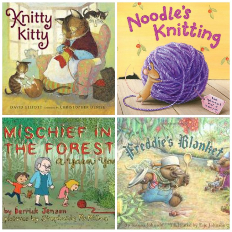 Knitting Themed Books for Kids: Ages 2-4 | knittedbliss.com