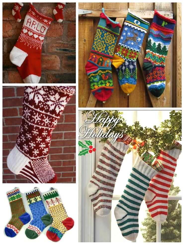 Holiday Knitting: Knitted Christmas Stockings| knittedbliss.com