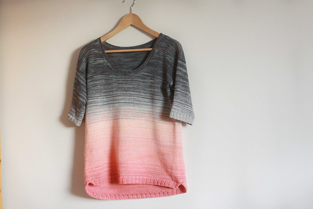 Modification Monday: Cloudy with a Chance of Sunrise | knittedbliss.com