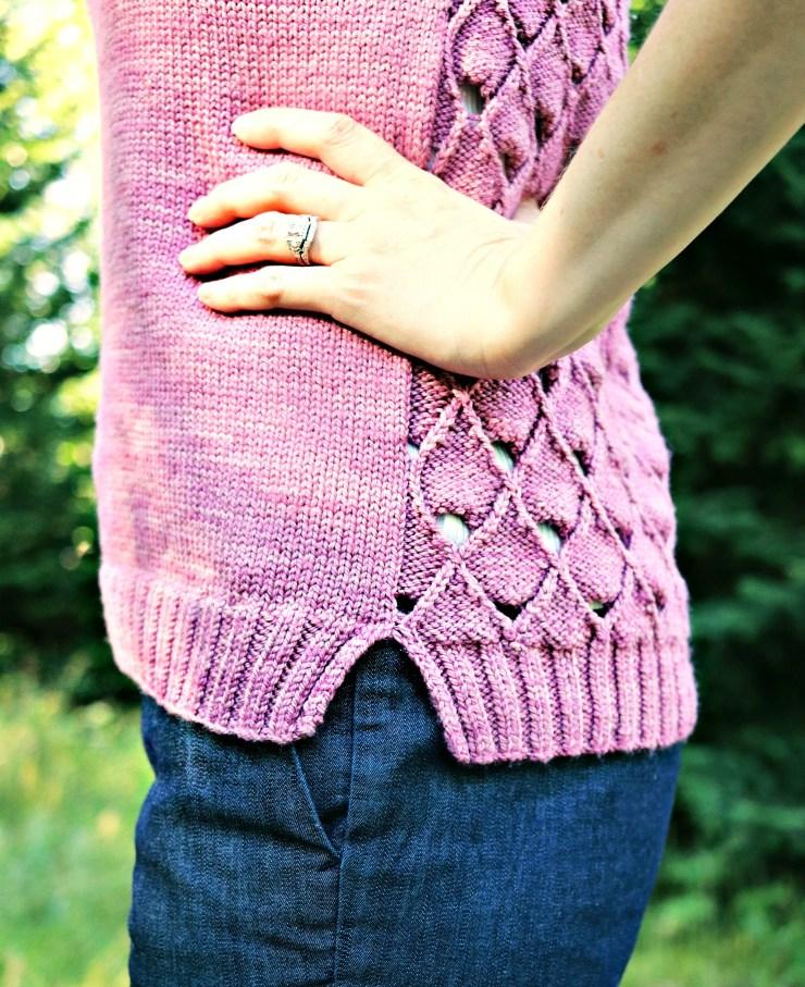 Delineate Tank | knittedbliss.com