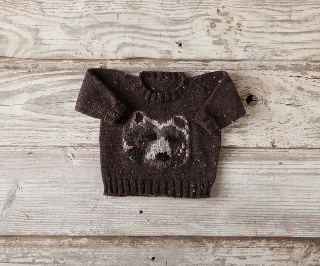 Modification Monday: Baby Grizzly Sweater   knittedbliss.com