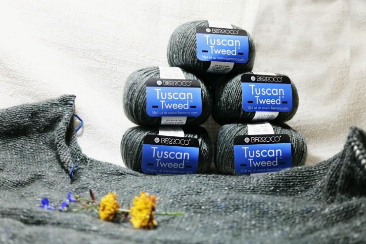 Berroco Tuscan Tweed Harebell | knittedbliss.com