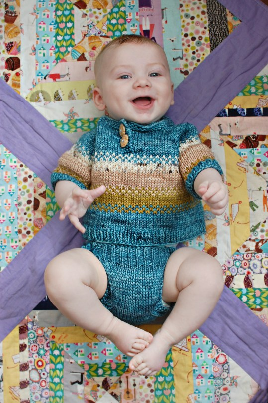 baby James | knittedbliss.com