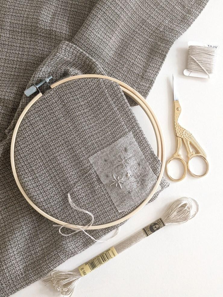 DIY Embroidery on a Cardigan | knittedbliss.com