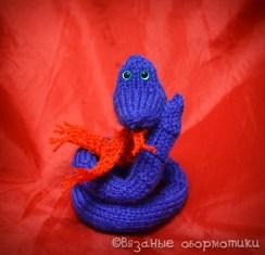 Вязаная змейка
