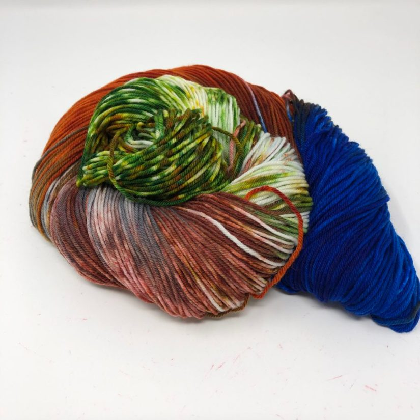 National Parks 2019 colorway Capitol Reef in Sock