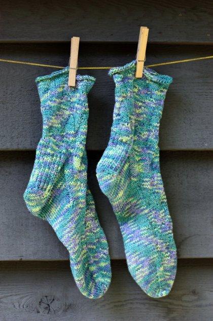 flame wave socks