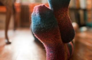 August: Socks for my mom