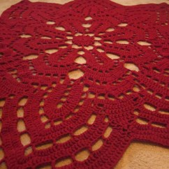 Red Kitchen Rugs Corian Sinks Rug Crochet A Simple Stitch I Am Thinking The Next
