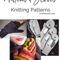 Free Knitting Patterns - Mittens and Gloves