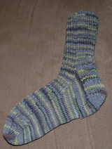 ribbed-sock