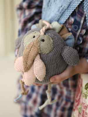 your christmas turkey from rowan purelife organic cotton knitting