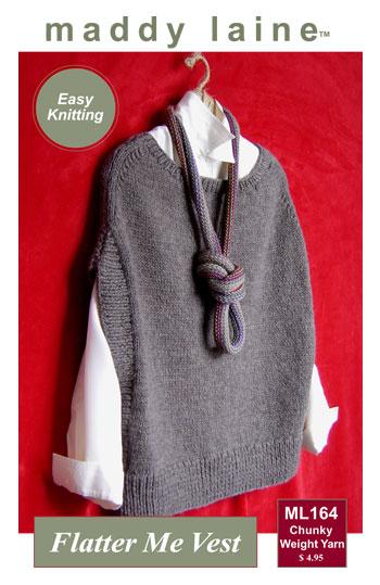 Maddycrafty Does It Again New Vest Pattern Knitting