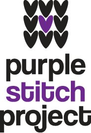 purple stitch project