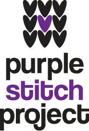 purple stitch project