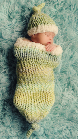 Free Patterns Baby Cocoons And Hats Knitting