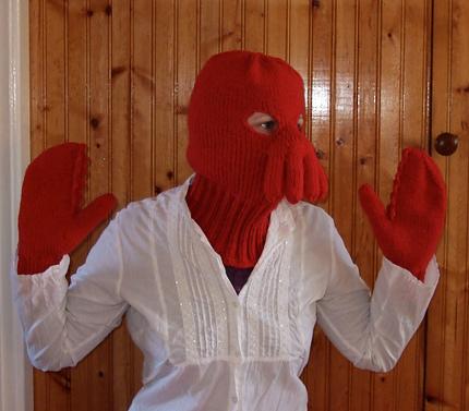 zoidberg mask and mitts