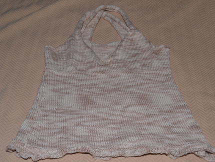 Free Knitting Patterns Tank Top Edition Knitting
