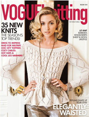 vogue knitting holiday 12