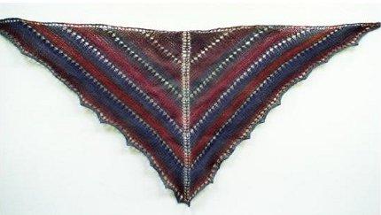 painted desert shawl