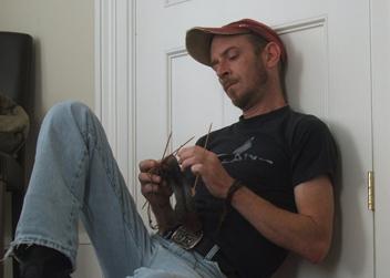 mad man knitting