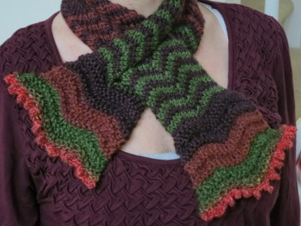 blooming scarflette purl3agony