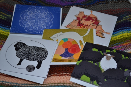 black sheep note cards