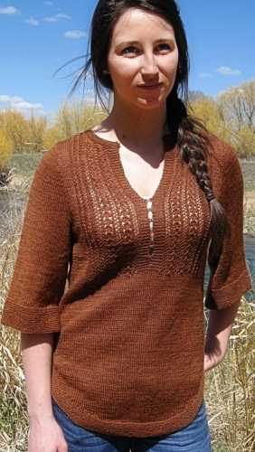 lewis pullover knitty