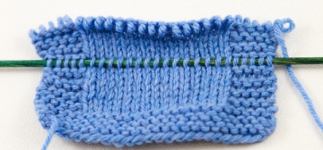 knitting needle lifeline