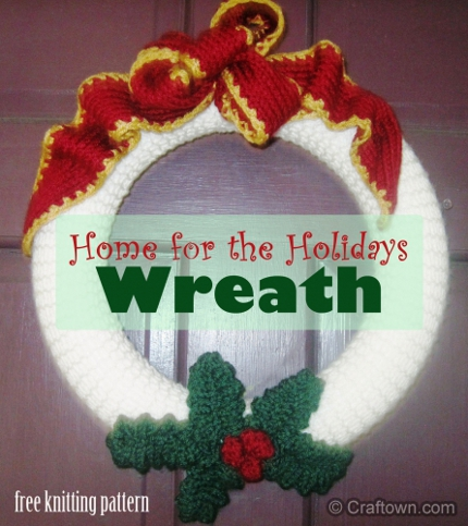 holiday wreath craftown