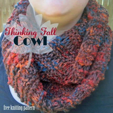 thinking fall cowl