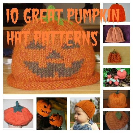 pumpkin hat knitting patterns