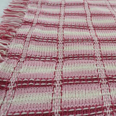knit tartan