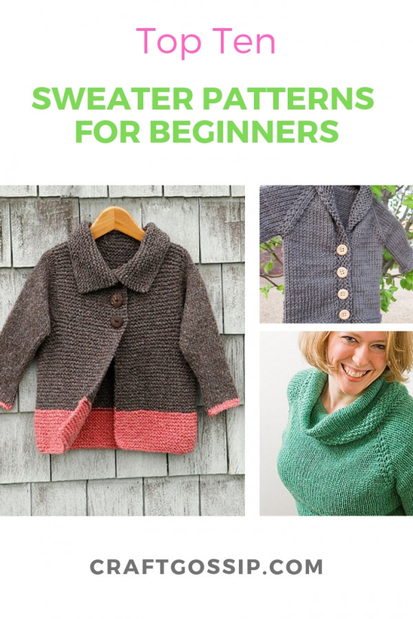 top 10 sweater-knitting-patterns-free-easy- – Knitting