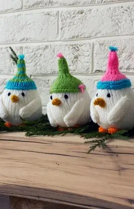 Knit Sweet Little Birds for the Holidays and Beyond - Knitting