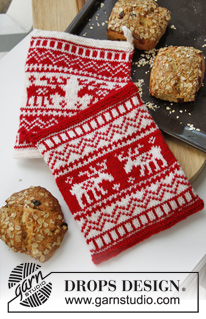 moose potholder drops