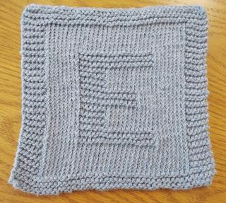 monogrammed washcloth