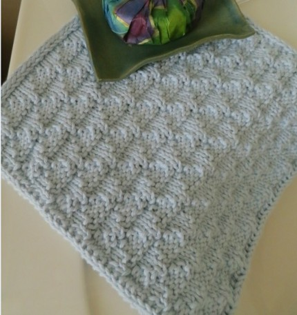 Stitch a Washcloth for a Quick Gift